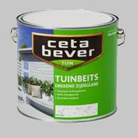 Cetabever Tuinbeits Dekkend Zijdeglans Donkergroen 605 - 2,5 Liter