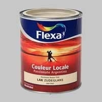 8 x Flexa Couleur Locale Passionate Argentina Mist (7045) Hoogglans - 0,75 Liter