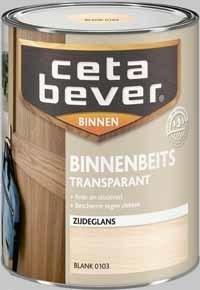 Cetabever Binnenbeits Transparant Wenge 0118 Zijdeglans - 250 ml