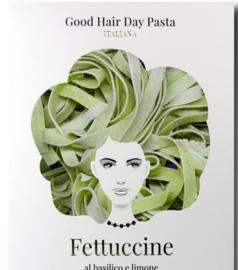 Fettuccine met Basilicum en Limoen