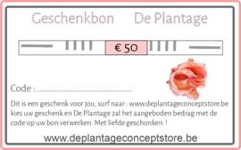 Geschenkbon € 50