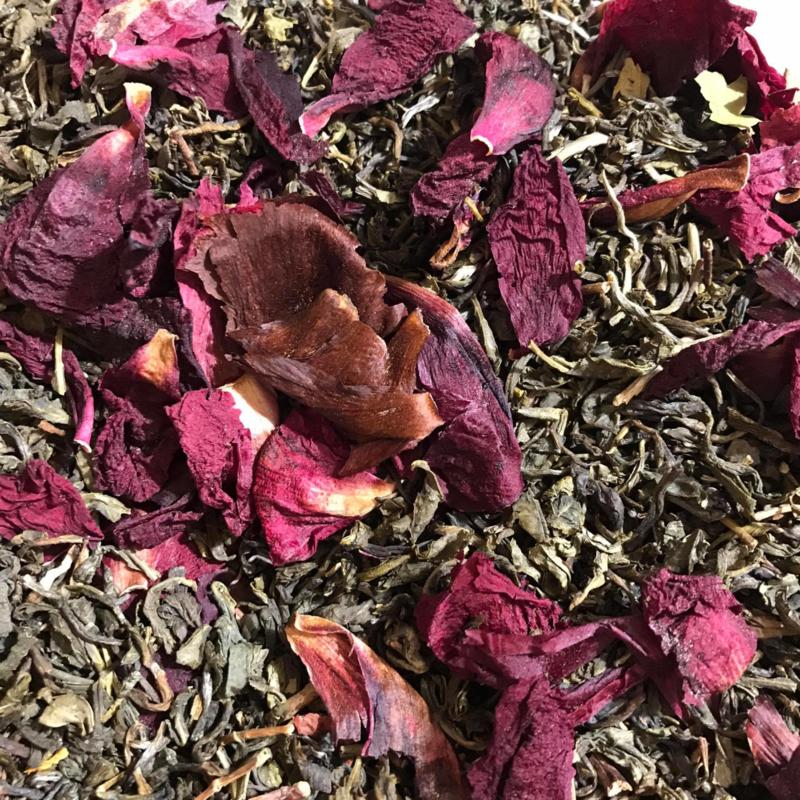 Witte thee met Pioenrozen en Lychee | 100 gr