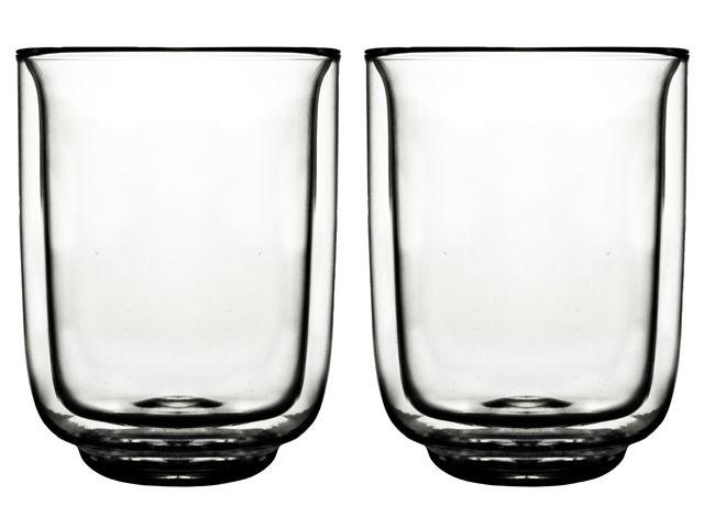 Set Dubbelwandige glazen