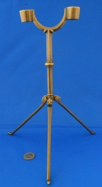 Double traveling candelstick