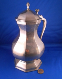 8 sided medieval flagon