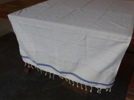 Tablecloth and towels