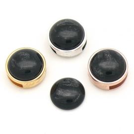 pearl black slider