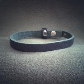 sliderarmband soft zwart  SNE01-10