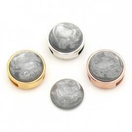 pearl grey slider
