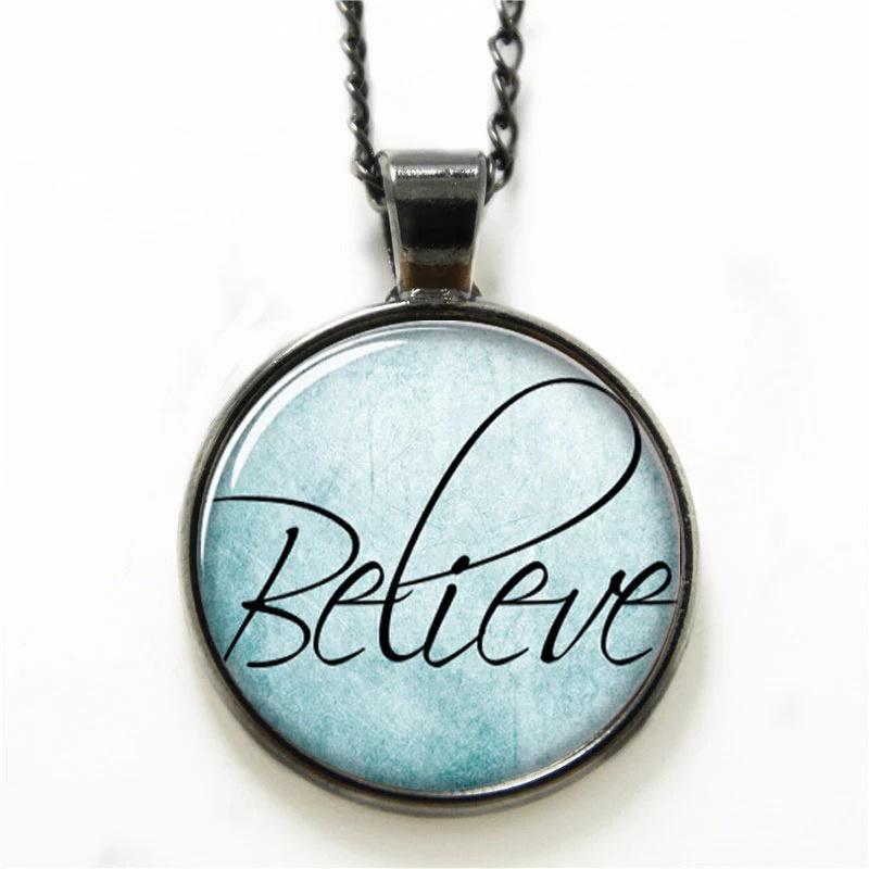 Ketting  believe  bleu K014