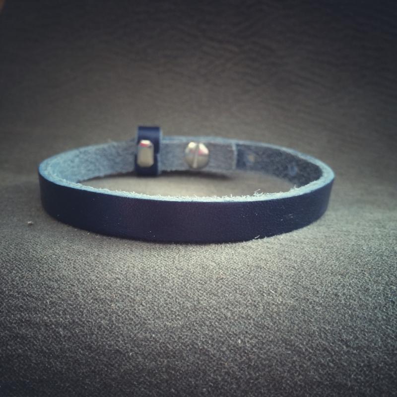 sliderarmband navy blue SNE01-4