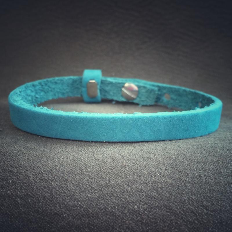 sliderarmband turquoise SNE01-13