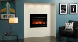Gazco Designio2 Glas/staal frame