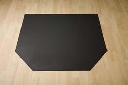 Stalen Zeskantige vloerplaat 800x1000x2 mm
