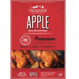 APPLE PELLETS 20LB BAG