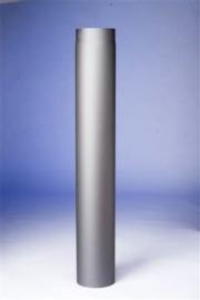 Kachelpijp 1000 mm met klep