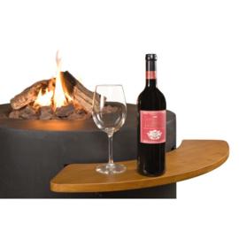 Houten Side Table voor Ovaal/Rond