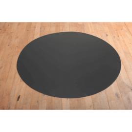vloerplaat rond 800mm of 900mm zwart/grijs