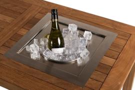 Wijnkoeler Vierkant, losse inbouw