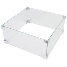 Glazen ombouw Cocoon Table Vierkant/Rechthoek klein