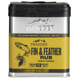 Fin and Feather rub Traeger