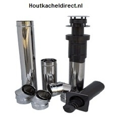 Concentrisch rookgasafvoersysteem