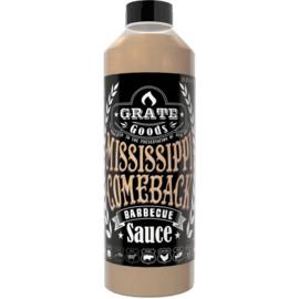 Mississippi Comeback Barbecue Saus