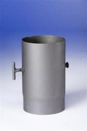 Kachelpijp 250 mm met klep