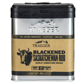 Blackened Saskatchewan rub Traeger