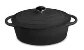 Ovale kookpan gietijzer 29CM