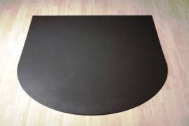 Stalen Halfronde vloerplaat 800x800x2 mm