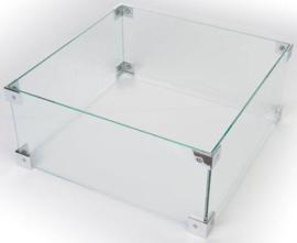 Glazen ombouw Cocoon Table Vierkant/Rechthoek
