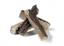 Keramische houtblokken