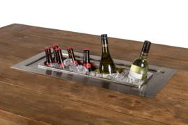 Wijnkoeler Rechthoek, losse inbouw