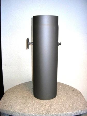 Kachelpijp 500 mm met klep