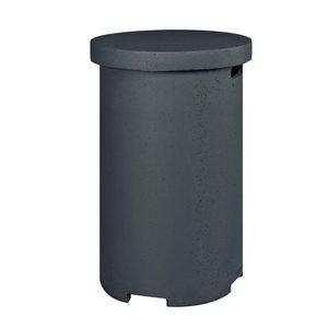 Bijzettafel/gasfleshouder LPG Rond