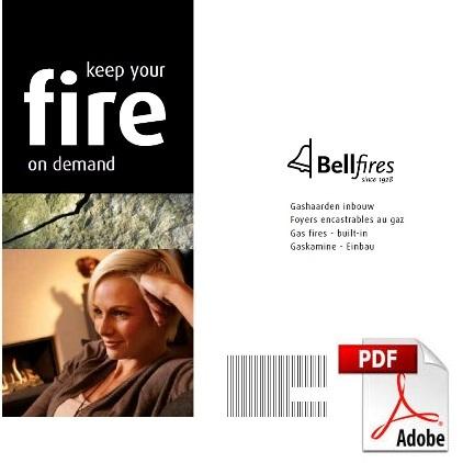 Bellfires inbouwhaarden brochure