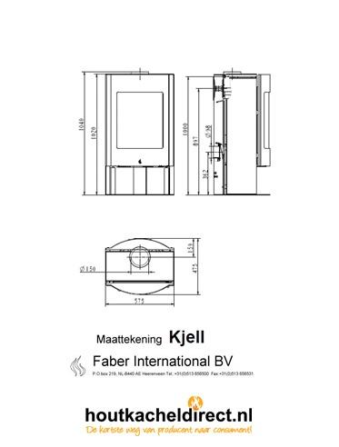 Detail tekening Faber Kjell