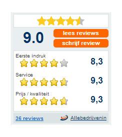Reviews allebedrijven