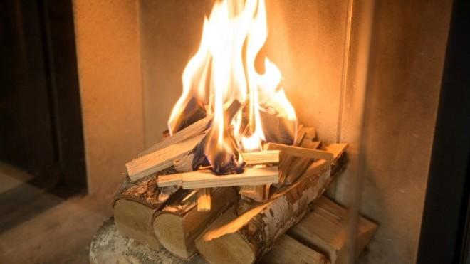 houtkachel vlammenspel