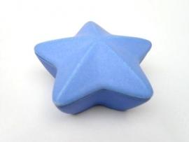 Asbewaardoosje Ster (blauw)