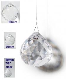 Feng Shui Regenboog Kristal (Bol 2cm)