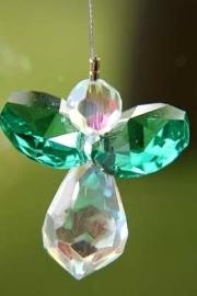 Kristal Engeltje -groen-