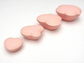 Asbewaardoosje Wolk (roze)