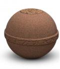 Biologisch afbreekbare urn (bruin)