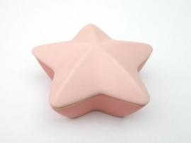 Asbewaardoosje Ster (roze)