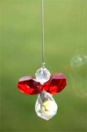 Kristal Engeltje -rood-