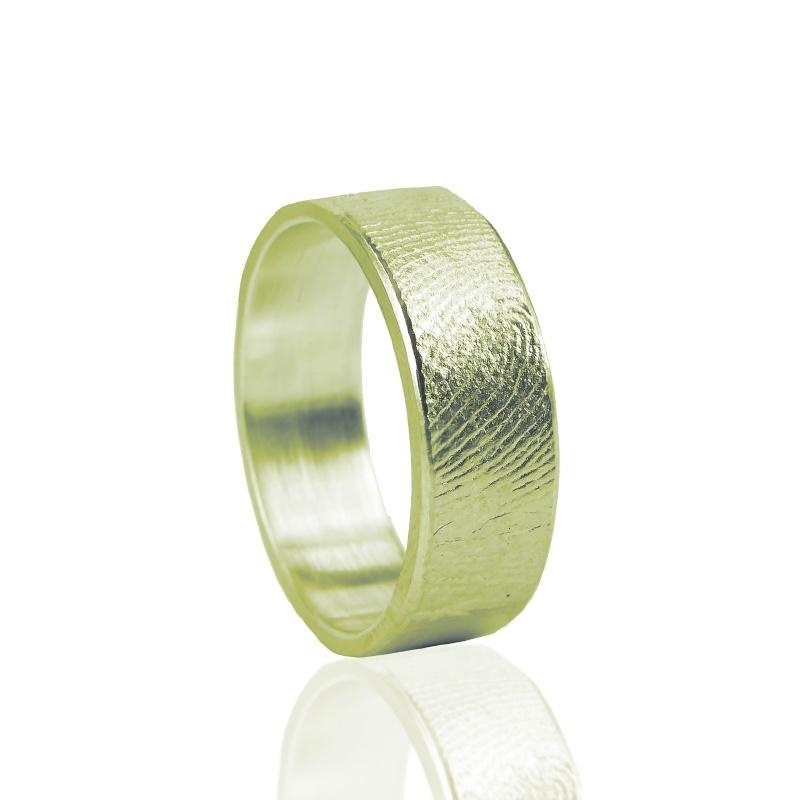 Vingerafdruk ring - G0101-00