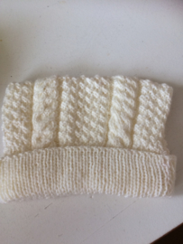 Baby mutsje kabels omvang 40 cm