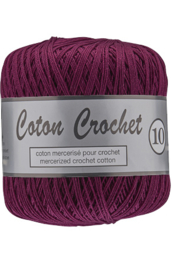 Coton Crochet 10/nr 064 donker Paars